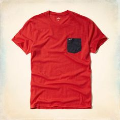 Must-Have Contrast Pocket T-Shirt - supersoft with vintage vibes.