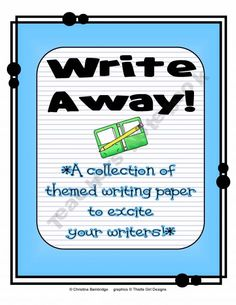61 different fillable pieces of stationery so you can customize assignments in primary and intermediate lined!