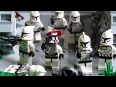LEGO Star Wars HUGE Base on Endor - YouTube