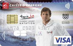 Envie d'avoir une carte bancaire à l'effigie de Clément Lefert ? Rendez-vous sur www.caisse-epargne.fr/EspritJO pour la commander ou adressez-vous directement à votre conseiller !