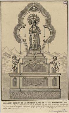 [Nuestra Señora del Rosario]. Maré, Pedro Celestino fl. 1842-1862 — Grabado — 1800?
