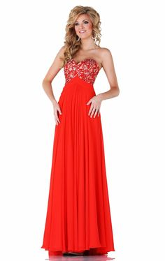 >> Click to Buy << Hot Sale Prom Dress Red Chiffon Applique Beaded Crystal  Vestidos De Festa Hollow Open Back Floor-Length Party Prom Gown P8054 #Affiliate