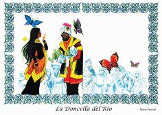 LA DONCELLA DEL RIO - CUENTO E ILUSTRACION ROBIN HOOD - Álbumes web de Picasa