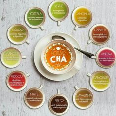 Eu amo chá!