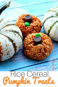 Need a fun fall dessert that's fast and fun? Take these pumpkin treats to your fall party, or keep them at home for yourself!