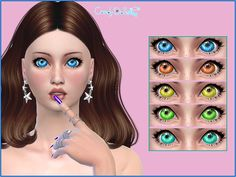 SweetSugar Eyes by CandyDoll at TSR • Sims 4 Updates