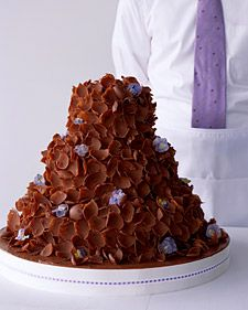 Chocolate Petals - Martha Stewart Food