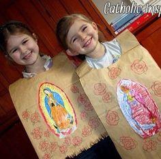 Dia de la Virgencita craft.