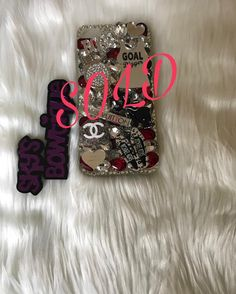 #SOLD IPHONE 7/8 Plus 3d Bling Case.. #dm for pricing on a item.. I have a few spots available for custom orders now for Christmas orders so place your order today!! a custom case will make a great gift  #goaldigger #mk #cc #lv #mac #maclipstick #prettythings #handmade #custom #bossbabe #nurselife #rn #hairstylist #nailtech #dentalassistant #mua #stylist #makeupartist #teachers #shopsmallbusiness this holiday  PUT IN YOUR ORDERS TODAY!!! #skysbowtique