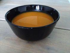 1 flespompoen, 1 venkel, 1 winterpeen, 1 oranje paprika, 1 zoete aardappel (om te binden).I Love Health | 5 x gezonde soep recepten | http://www.ilovehealth.nl