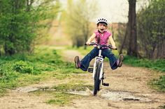 Looking to bike more than your neighborhood? These great bike paths are guaranteed to keep your kids happily pedaling.