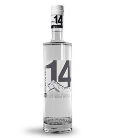 """Altitude Spirits tasked me with creating a consumer package for Vodka 14, their organic craft-distilled vodka, that reflected the qualities of the product itself: exceptional quality, purity, and sustainability. The bottle this design process yielded is a tall, elegant and simple form, decorated with just black, white, and grey pigments. Lots of undecorated space on the bottle highlights the exceptional clarity of the product. The artwork itself is strong but understated, big bold type in…"