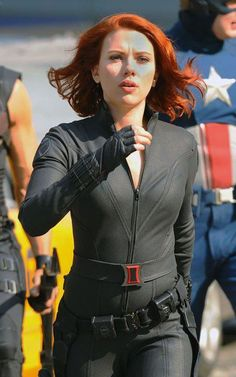 scarlett johansson the avengers  | Scarlett-Johansson-Avengers-Movie-Costume | The Movie Blog