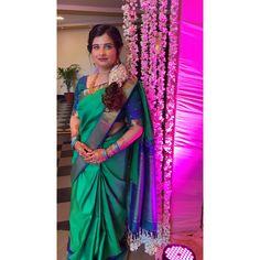 #silk #saree #sareeblouse #hairstyles #southindianjewellery #southindianfashion #southindiansaree #silksaree #sarisilk #sari #sareestyles #templejewellery #floralhair #southindianhair