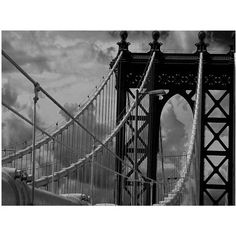 Trademark Art Manhattan Bridge Canvas Art by Yale Gurney, Size: 24 x 32, Multicolor