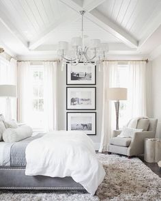 I like the overall feel of the room.  This rug is too chunky but want a soft rug (not sisal type) #ParentingBedroom