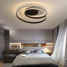 Luster LED ceiling lights for living room study bedroom Home Deco white modern surface mounted ceiling lamp : Luster LED ceiling lights for living room study bedroom Home Deco white modern surface mounted ceiling lamp Bedroom Ceiling, Living Room Bedroom, Ceiling Lamp, Master Bedroom, Modern Bedroom, King Bedroom, Bedroom Black, Ceiling Lighting, Cozy Bedroom
