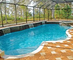 Free Form Pool Built By Blue Haven Pools Jacksonville Swimming Photos