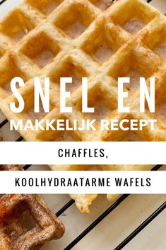 Chaffles, koolhydraatarme kaaswafels - Save the Mama #koolhydraatarm #chaffles #keto Hamburgers, Crackers, Low Carb Recipes, Breakfast, Low Carb, Morning Coffee, Pretzels, Burgers, Hamburger