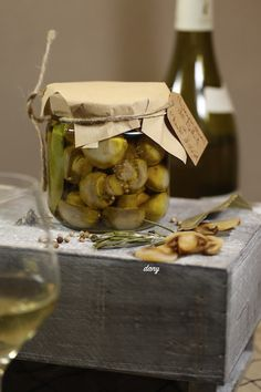 Pickels, Kitchen, Garage, Cooking Recipes, Canning Jars, Preserves, Vinegar, Carport Garage, Cooking