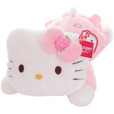 1fd62c1c21b Hello Kitty Cat Plush Toy Lovely Stuffed Animal Doll. Hello Kitty  PlushBirthday Gifts ...