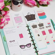 A Parisian Holiday for Your Office & Planner!