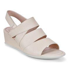 ecco kilehæl sko, Ecco Soft 2.0 Kernelæder Flade Sko Kvinder
