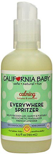 6.5 oz / 195 ml spray bottle. Safe for newborns and older. Helps promotes #calmness, ensures a good night's sleep, and helps to keep #germs at bay. Scented with F...