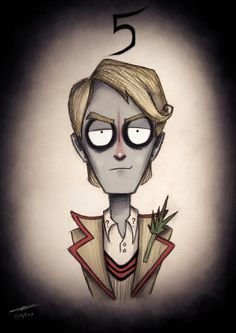 Doctor Who by Tim Burton - The #5 Doctor