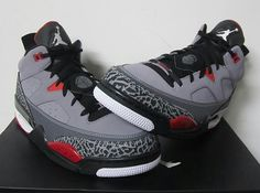 free shipping 7a7db 5e0c1 Jordan Son of Mars Low – Cement Grey – Black – Fire Red –