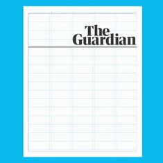 The Guardian New beginnings New Beginnings, The Guardian, Newspaper, Bar Chart, Layout, Tumblr, Student, Design, Journaling File System