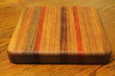 Wooden Cutting board Handmade Chopping Block by dlightfuldesigns