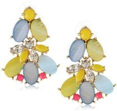 "Kate Spade New York ""Bungalow Bouquet"" Statement Earrings"