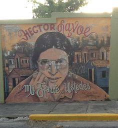 Hector Lavoe mural, Ponce Puerto Rico