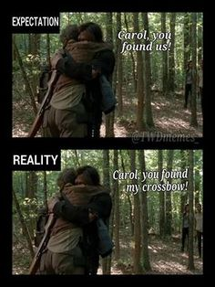 The Walking Dead // Daryl and his crossbow