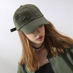 a47757ca06b Ripped baseball cap with holes for teenage girls casual hip hop caps
