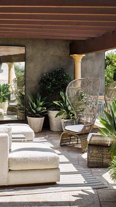 Backyard Seating, Backyard Patio, Diy Patio, Backyard Landscaping, Budget Patio, Diy Deck, Outdoor Rooms, Outdoor Decor, Outdoor Mirror