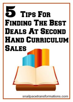 Part 1 of a 2 part series on how to successfully shop second hand curriculum sales for homeschool supplies.