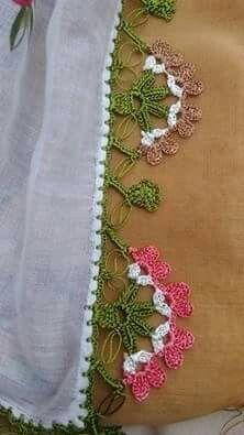 Most Beautiful Crochet Patterns, # of they # Is oyaörneklerigöst # Yazmakenarıoyamodel of Source by Crochet Curtains, Crochet Doilies, Crochet Flowers, Crochet Lace, Crochet Stitches, Crochet Trim, Hand Applique, Hand Embroidery, Crochet Boarders