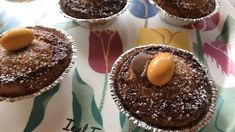 Saftiga grötbullar med kross | söndagsfika.se Fika, Muffin, Food And Drink, Pudding, Breakfast, Desserts, Instagram, Frases, Breakfast Cafe