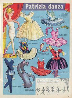 Patrizia danza Tratto dal nº 43 del 28 ottobre 1962 del Corriere dei Piccoli. Disegni di G. Nidasio
