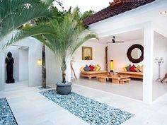 Beautiful living space in Bali
