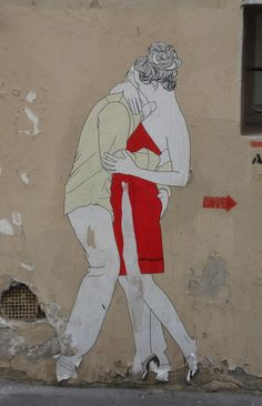 Red by Claire #streetart
