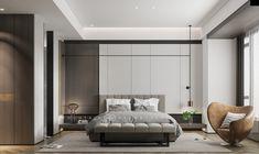 山乙建设丨江山壹号|空间|室内设计|山乙建设 - 原创作品 - 站酷 (ZCOOL) Home Bedroom, Hotel Bedroom Design, Modern Hotel Room, Bedroom Interior, Bedroom Hotel, Luxurious Bedrooms, Bedroom Inspirations, Hotel Room Design, Modern Bedroom