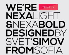 Nexa Font instantShift - Free Fonts For Your Designs