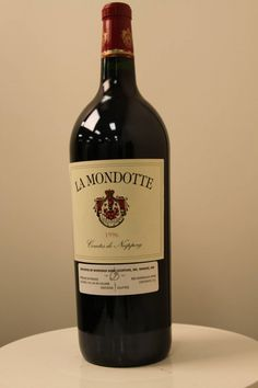 Chteau La Mondotte Saint Emilion 1996 550x825 Cheers! Top of the Line Wines That Every Man Would Love to Drink