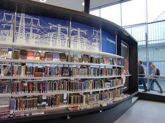 Skilting i Almere bibliotek