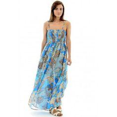 Jeannious Boutique - Multicoloured Chiffon Maxi Dress , £16.00 (http://www.jeannious-boutique.com/multicoloured-chiffon-maxi-dress/)