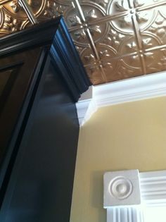 Joining 2 Different Crown Moldings - Finish Carpentry ...