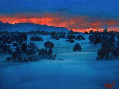 Six minute slide show of winter and Christmas paintings by various artists, set to Vivaldi's Gloria.